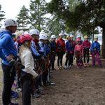 Hamar sommerskiskole 2016 – Helgøya klatrepark